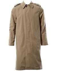 Acne Studios Beige Polyester Coat - Natural