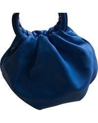 Loewe Bounce Bag Leder Cross body tashe - Blau