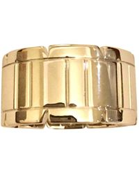 Cartier Joya Tank Française de Oro blanco