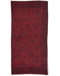 Givenchy - Red Wool Scarf - Lyst