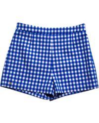 Diane von Furstenberg - Mini-shorts - Lyst