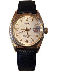 Rolex Reloj en oro amarillo plateado Datejust 36mm - Multicolor