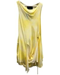 Thakoon - Yellow Silk Dress - Lyst