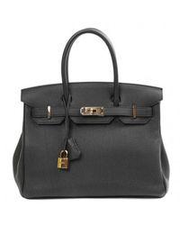 Hermès Birkin 30 Leder Handtaschen - Schwarz