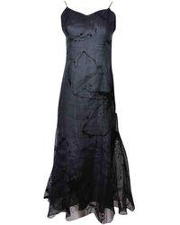 Dior Black Silk Dress