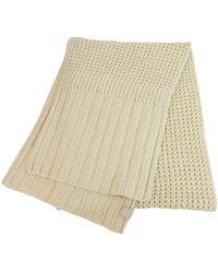 UGG Wool Scarf - Natural