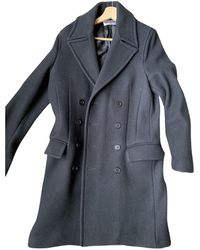 Zadig & Voltaire Wool Peacoat - Black