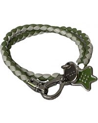 Tod's Leather Bracelet - Green