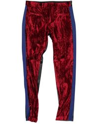 Haider Ackermann Multicolor Synthetic - Red