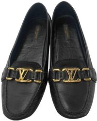 080375b300ec Lyst - Women s Louis Vuitton Loafers and moccasins Online Sale