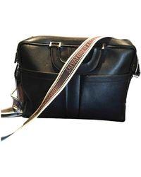 Ferragamo Leather Satchel - Black