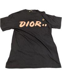 Dior Navy Cotton T-shirt - Blue