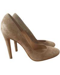 Gianvito Rossi Heels - Natural