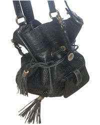 Lancel 1er Flirt Leder Handtaschen - Schwarz