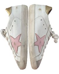 Golden Goose Deluxe Brand Superstar Leder Sneakers - Weiß