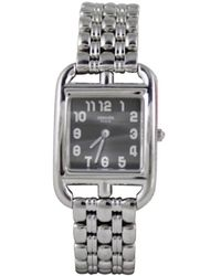Hermès Cape Cod Uhren - Mettallic