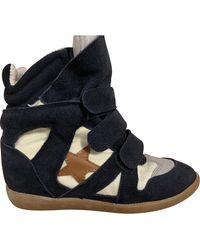 Isabel Marant Beckett Sneakers - Blue