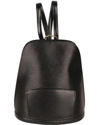 Louis Vuitton Mochila Gobelins Vintage de Cuero - Negro