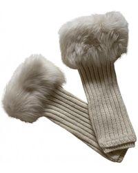 UGG Wool Long Gloves - Multicolour