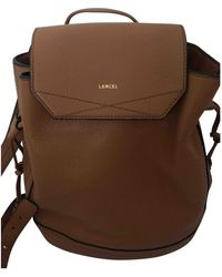 Lancel Huit Leather Backpack - Multicolour