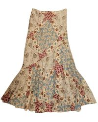 Dior Multicolour Silk Skirt