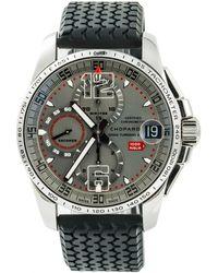 Chopard Mille Miglia Grey Steel Watch - Gray