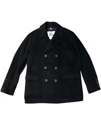 Burberry Wool Peacoat - Black