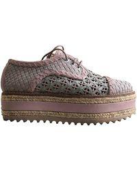 Zimmermann Multicolor Leather Sneakers