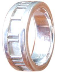 Tiffany & Co. Atlas Silber Ringe - Mettallic