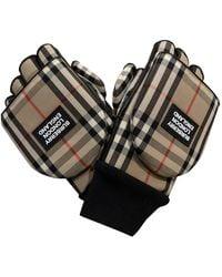 Burberry Handschuhe - Mehrfarbig