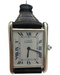 Cartier Reloj en acero Tank Must - Multicolor