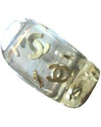Chanel CC Keramik Ringe - Mettallic