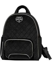 Chanel Velvet Backpack - Black
