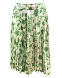 CALVIN KLEIN 205W39NYC Mid-length Skirt - Green