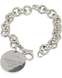 Tiffany & Co. Return To Tiffany Silver Bracelet - Multicolor