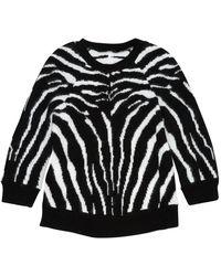 Balmain Wolle Pullover - Schwarz