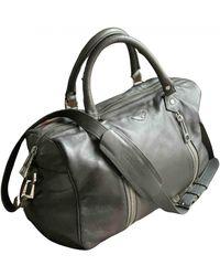 Zadig & Voltaire Sunny Leather Handbag - Grey