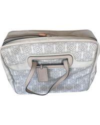 Loewe Leather 48h Bag - Natural