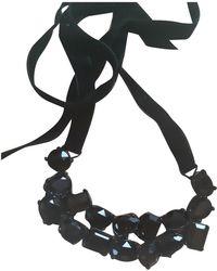 Sonia Rykiel Crystal Necklace - Black