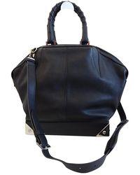Alexander Wang Emile Leather Handbag - Black