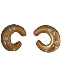Balmain Gold Plated Earring - Multicolour