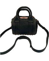 Alexander Wang Rockie Leather Crossbody Bag - Black
