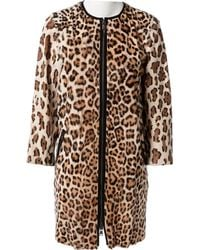 Emilio Pucci - Brown Fur Coat - Lyst