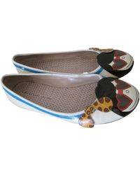 Marc By Marc Jacobs - Pre-owned Multicolour Patent Leather Ballet Flats - Lyst