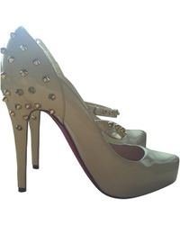 Christian Louboutin - Pre-owned Leather Heels - Lyst