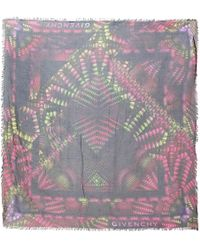 Givenchy - Pre-owned Silk Scarf - Lyst