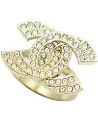 Chanel Gold Metal Rings - Metallic