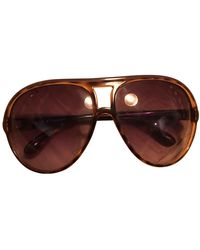 Marc By Marc Jacobs Aviator Sunglasses - Brown