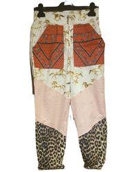 Ganni Carot Pants - Multicolor