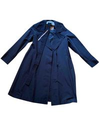 Max Mara Trench Coat - Blue